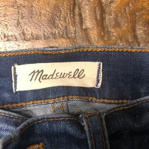 """Madewell Jeans - Madewell 10"""" High Rise Skinny.  Size 27"""